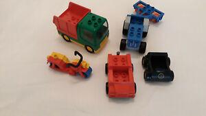 Lego duplo, 5 versch. Fahrzeuge