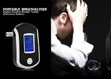 Digital Breath Alcohol Tester LCD Breathalyzer Detector Advanced Police Analyzer