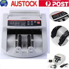 Digital Bill Counter Worldwide Money Banknote Counting Machine High Speed AU