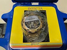 Invicta Men's 52mm Thunderbolt Quartz Chrono SS Bracelet Watch w Bonus Mini Case
