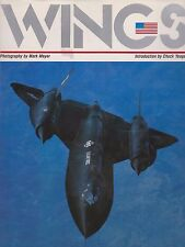 Wings by Mark Meyer (1984, Hardcover) (1980s US Military Aviation Photography)