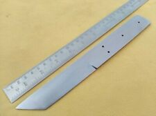 "9.50"" custom made big spring steel special tanto hunting knife blank blade"