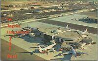 Los Angeles International Airport Jetport CA c1960s Vintage Postcard - Unposted