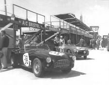 Vintage Very Rare 8 X 10 1958 Sebring AC Ace Bristol