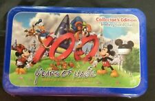 Disney 100 Years Of Magic Trading Card Set Tin 28 Cards unopened  5,000 Limeted!