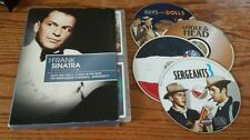 The Frank Sinatra Collection (DVD, 4-Disc) Guys and Dolls, Manchurian Candidate