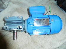 NGB MS5624 Right Angle Gear Motor  220-380 Volt 3 Phase  0.12 HP .09KW