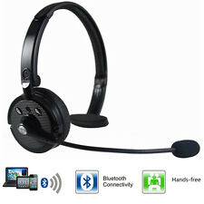 Over The Head Boom+Mic Noise-Canceling Bluetooth Headset For Trucker Drivers US