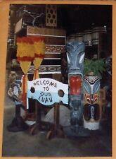 90's PHOTOGRAPH 4x6 TIKI POLYNESIAN HAWAIIAN NAUTICALStore-OCEANIC ARTS, CA?