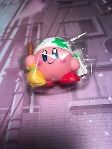Kirby Star Allies Mini Soft Vinyl Kirby with Broom Figure