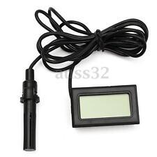 Mini Digital Lcd Thermometer Hygrometer Humidity Temperature Meter Egg Incubator