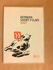 RARE DVD / GERMAN SHORT FILMS VOL 2 / 10 COURTS METRAGES / TRES BON ETAT