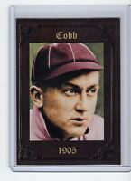 Ty Cobb '05 Augusta minor league Monarch Corona serial # only 200 exis  t🔥