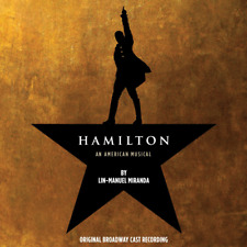 Authentic Hamilton Original Broadway Cast Recording 2 Cd Soundtrack Atlantic