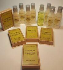 Lot/13 Crabtree & Evelyn Verbena & Lavender Lotion, Soap & Conditioner Sample Sz