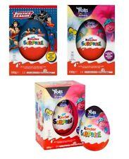 Kinder Surprise Easter Maxi Eggs Trolls/Justice League Large Big  EasterEgg Hunt