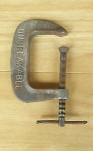"""VINTAGE """"UNBREAKABLE"""" G-CLAMP PAULCALL - P03 3 INCH 3"""""""