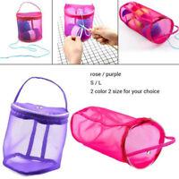 Knitting Mesh Yarn Case Needle Crochet Hook Organizer Bag Storage Bags Durable