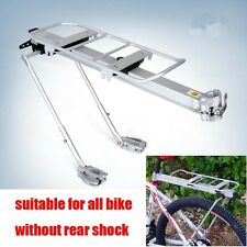 Bicycle Outdoor MTB Mountain Bike Black Rear Pannier Carrier Rack Seat Post