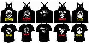 Bodybuilding MUSCLE  VEST TANK TOP STRINGER GYM LOW SCOOP NECK RACERBACK t shirt