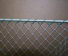 "5' x 7' General Sports Nylon Net Barrier Backstop Border on all 4 sides 3/4"" #7"
