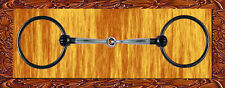 5.25 inch Sweet Iron Loose Ring Snaffle Jeremiah Watt with Copper Inlay