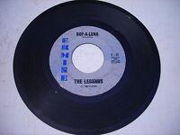 The Legends Bop - A - Lena / I Wish I Knew 1962 45rpm