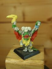 CLASSIC METAL WARHAMMER ORC SHAMAN PAINTED (2591)