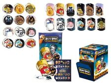 1 PACK ANGRY BIRDS STAR WARS DOG TAG + BALL CHAIN + 2 STICKERS AND CHECKLIST