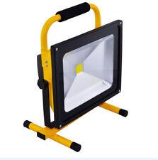 50W LED AKKU Arbeitsleuchte Baustrahler Fluter Handlampe Flutlicht Strahler B50W