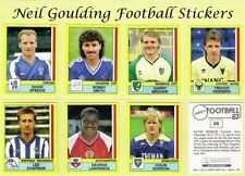 1986 Season Sports Stickers, Sets & Albums