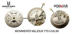 Original Movement Valjoux 7751/UG.99 NOS - Swiss Made Movement