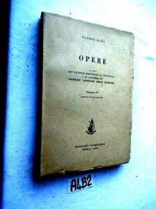 ULISSE DINI OPERE VOLUME IV  (A4B2)