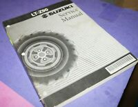 2007 Suzuki LT-Z90 Motorcycle Factory Service Shop Manual 99500-40020-01E