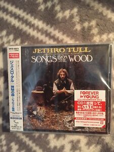 JETHRO TULL Songs from the Wood JAPAN CD 2014 WPCR-80074