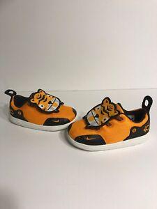 2018' Nike KD 11 Little Big Cats Orange Peel/Black-Wheat Gold Infant Toddler Boy