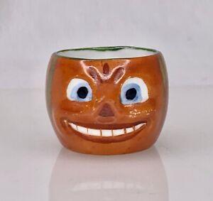 Vintage Halloween JOL Jack O'Lantern Pumpkin Open Salt -  84920