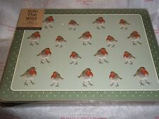 Intro The Wild Robin set 6 Place mats Creative Tops