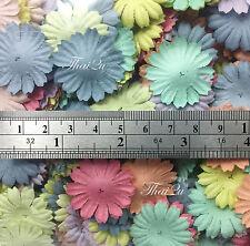 500 Pastel Small Daisy Die Cut Flower Petals Scrapbook Card Making Craft P70-426