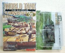 1/144 Takara Kaiyodo World Tank Museum 6 German LEOPARD 2 A6 NATO Camo model