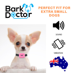 Bark Doctor BD656v Mighty Mini BARK STOP Dog Collar PERFECT FIT FOR CHIHUAHUAS