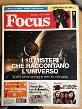 RIVISTA FOCUS SCOPRIRE E CAPIRE IL MONDO n. 264 Ottobre 2014