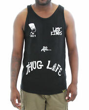 Last Kings Men's Thug Life Tank Top-Black-S