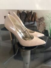 Guess Nude Patent Court Shoes Sz UK 6.5 New