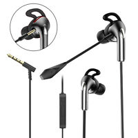 Gaming Music Stereo Earbuds Headset 360° Mic Earphones for PS4/5 Xbox iPad 3.5MM
