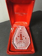 Waterford Crystal 12 Days of Cristmas 1991 Eight Maids Milking Ornament