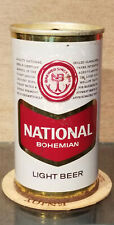 1969 NATIONAL BOHEMIAN PULL TOP BEER CAN BALTIMORE MARYLAND 3 CITY WIDE SEAM