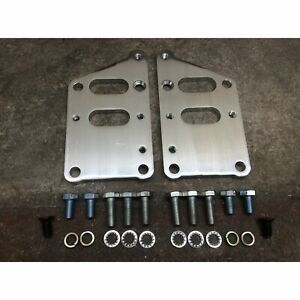 SBC Swap to LS1/LSX Motor Mounts Adapter Brackets small block 350 chevy motor ls