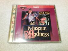 Museum Madness, You Solve It!, Science & History Educational Cd-Rom Game, 1995