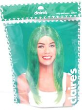 Claire's Womens Halloween / St. Patrick's Day Green Wig One Size